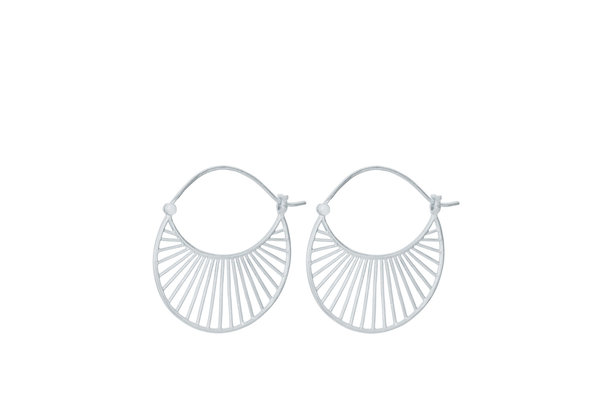 Pernille Corydon Large Daylight Earrings silber