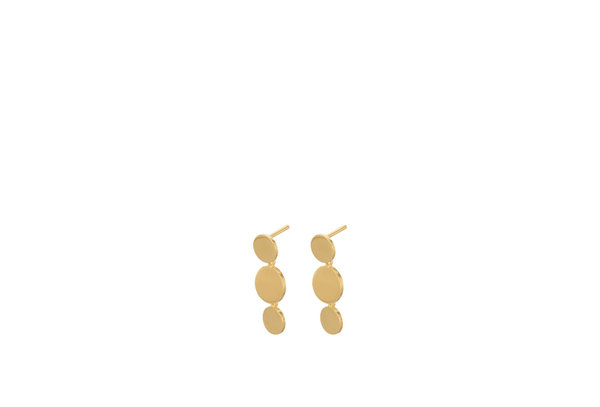 Pernille Corydon Triple Sheen Earsticks gold