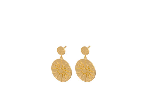 Pernille Corydon Bali Earrings gold