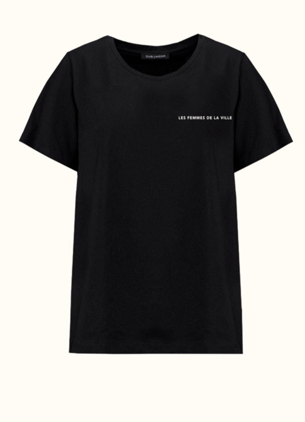 Club L`Avenir T-Shirt Club Logo black