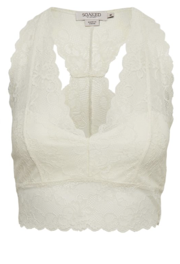 Soaked in Luxury Dolly Bralette antique white