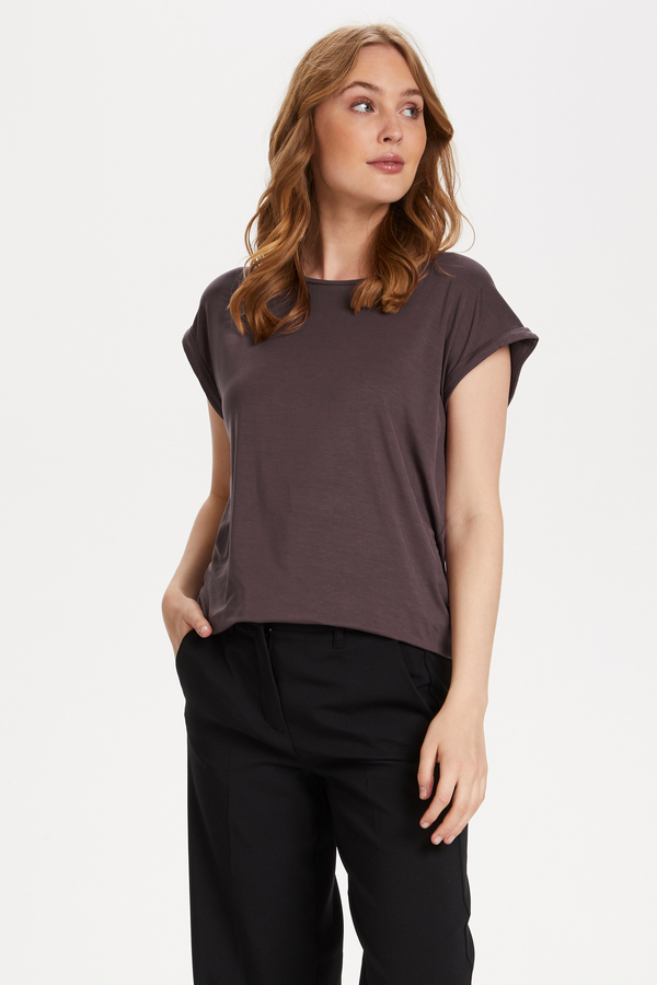 Saint Tropez T-Shirt Adelia Huckleberry