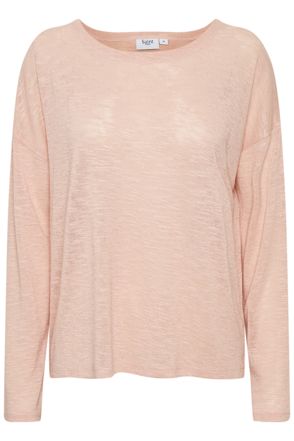 Saint Tropez Knit Blouse Rose
