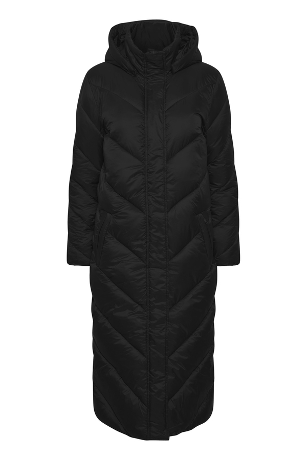 Saint Tropez Long  Jacket Catja black