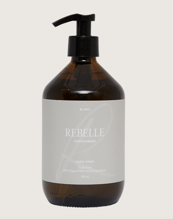 Rebelle Copenhagen Handseife  Blanc Ginger Mint 500ml