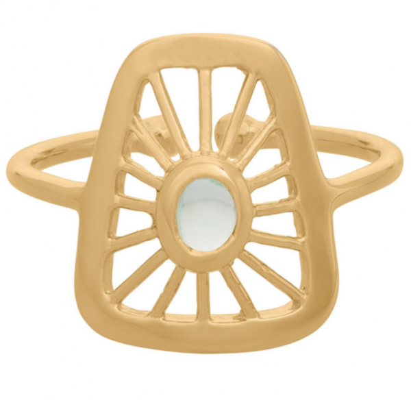 Pernille Corydon Thilde Ring small Gold