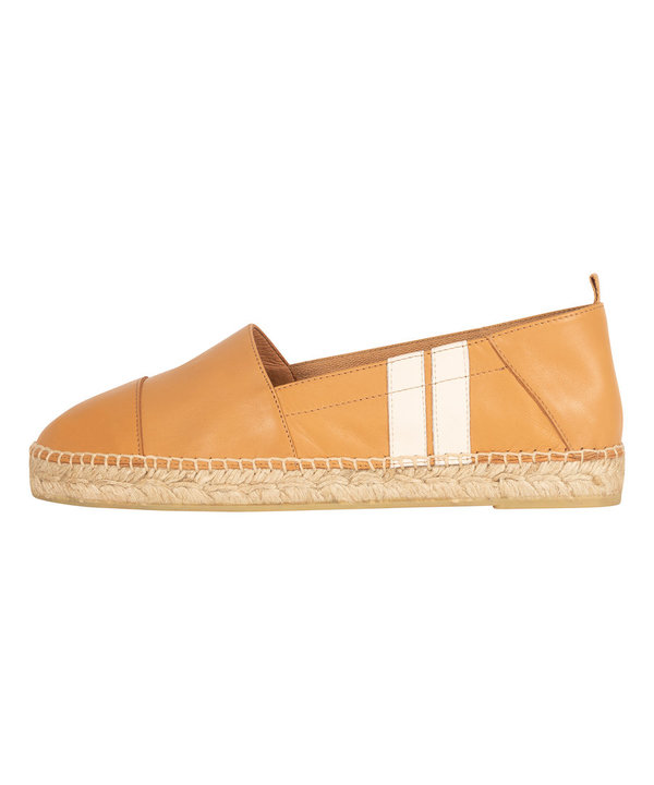 10Days Espandrilles Two Stripes Caramel