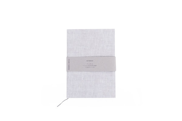 MONK&anna Notebook Linen